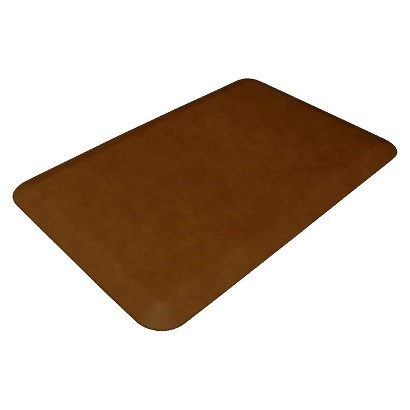"NewLife by GelPro Leather Grain Comfort Floor Mat (20x32"")"