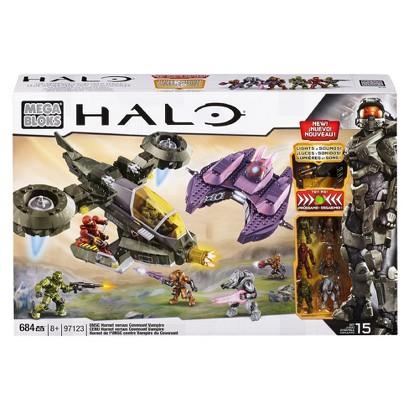 Mega Bloks Halo UNSC Hornet vs Covenant Vampire