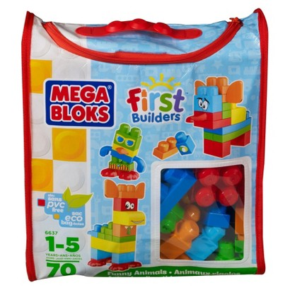 Mega Bloks First Builders Funny Animals