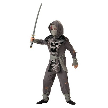 Image of Boy's Zombie Ninja Costume