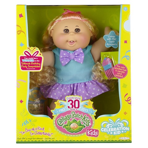 Cabbage Patch Kids Caucasian Girl Blonde Hair