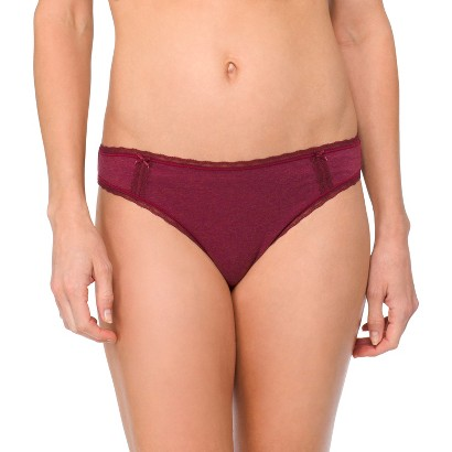 Women's Cotton with Lace Bikini - Gilligan & O'Malley®