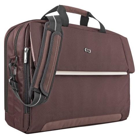 SOLO Chestnut Studio Briefcase
