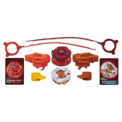 Beyblade Ifrit Salamander Fire Synchrome 2-Pack