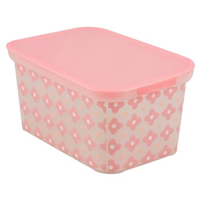 Circo™ Amsterdam Bin - Set of 3 - Pink Warm Flower Geo