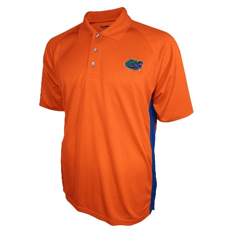 Florida Gators Men's 3 Button Polo Orange