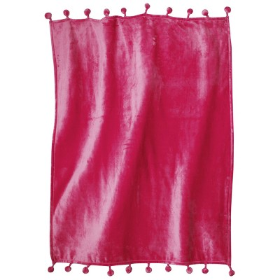 Xhilaration™ Pom Pom Throw with Tassel - Pink
