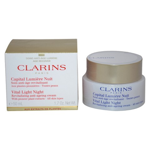 Clarins Vital Light Night Revitalizing Anti-Ageing Cream - 1.7 oz