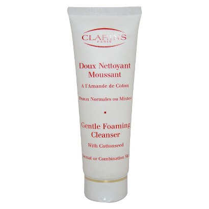 Clarins Gentle Foaming Cleanser With Cottonseed- 4.4 oz