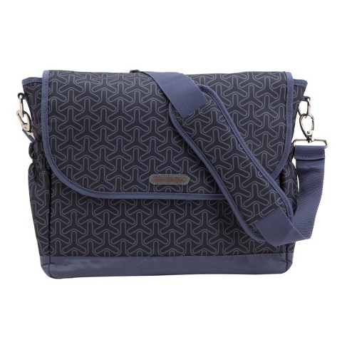 timi & leslie Joey Messenger Diaper Bag with Changing Pad