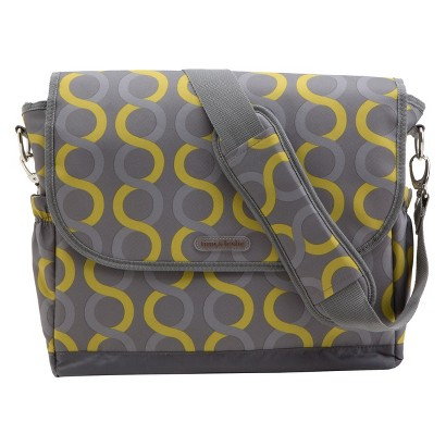 timi & leslie Sami Messenger Diaper Bag with Changing Pad
