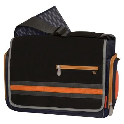 fisher price urban messenger diaper bag black target. Black Bedroom Furniture Sets. Home Design Ideas