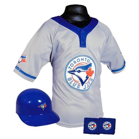 Franklin Sports Toronto Blue Jays Baseball Uniform for Kids