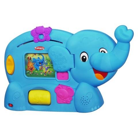 Playskool Learnimals ABC Adventure Pink Elephant Toy