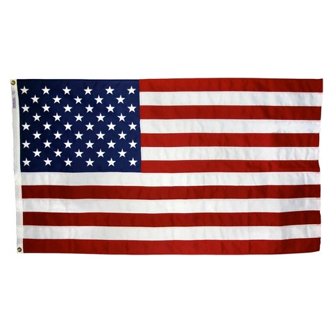 NYL-GLO ColorFast US Flag - 3X5'