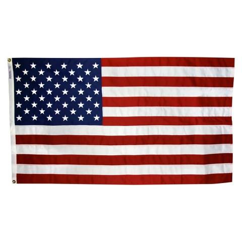 NYL-GLO ColorFast US Flag - 5X8'