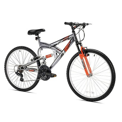 "Kent Northwoods Men's Z265 18 Speed Mountain Bike - Silver (26"")"