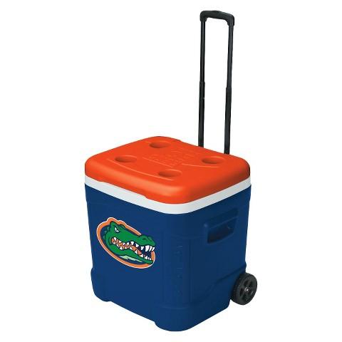Igloo® Florida Gators Collegiate Licensed Ice Cube™ Roller - Blue/ Orange (60 Quart)