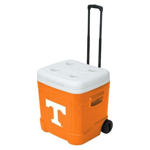 Igloo® Tennessee Vols Collegiate Licensed Ice Cube™ Roller - Orange/ White (60 Quart)