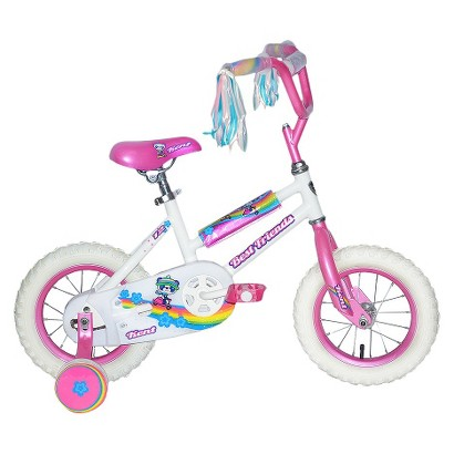 "Kent Girls Best Friends Panda Bike   White (12"")"