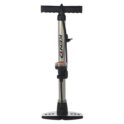 X-Factor Bike Pump with Guage   Silver