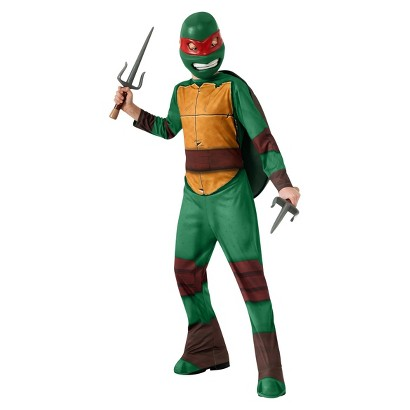 Boy's Teenage Mutant Ninja Turtle's Raphael Costume