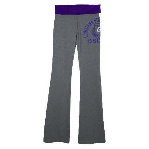 LSU Tigers Juniors Yoga Grey