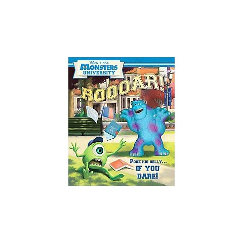 Disney Pixar Monsters University Roooar! (Hardcover)