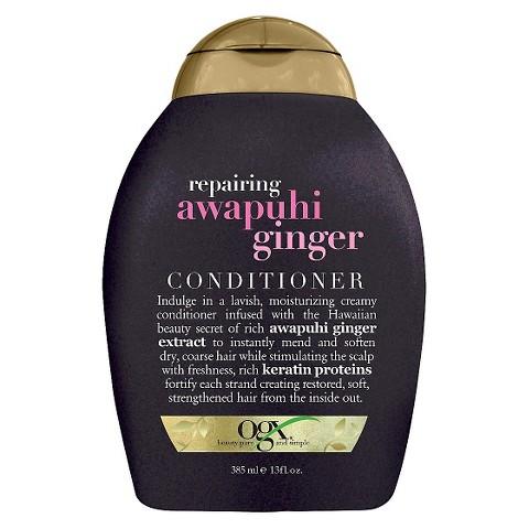 OGX Sulfate-Free Repairing Awapuhi Ginger Conditioner 13oz.