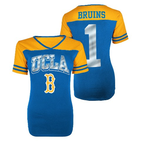 Juniors' UCLA Bruins V-Neck Shirt - Blue