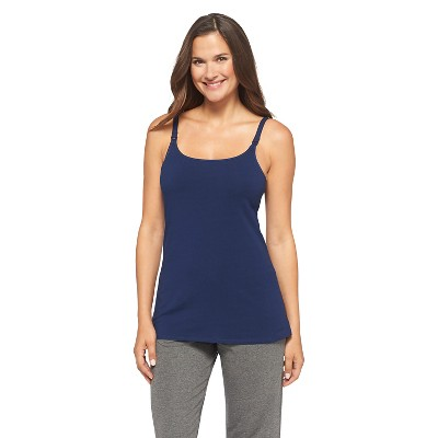 Women's Nursing Cotton Cami Nighttime Blue L - Gilligan & O'Malley™