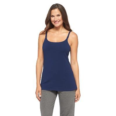 Women's Nursing Cotton Cami Nighttime Blue XL - Gilligan & O'Malley®