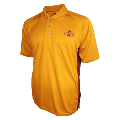 Iowa State Buckeyes Men's 3 Button Polo Yellow