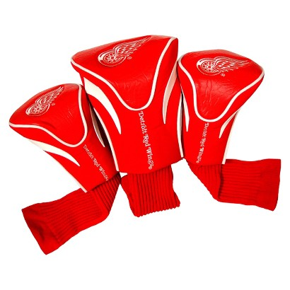 RED 3 Pk Contour Headcover-Redwings