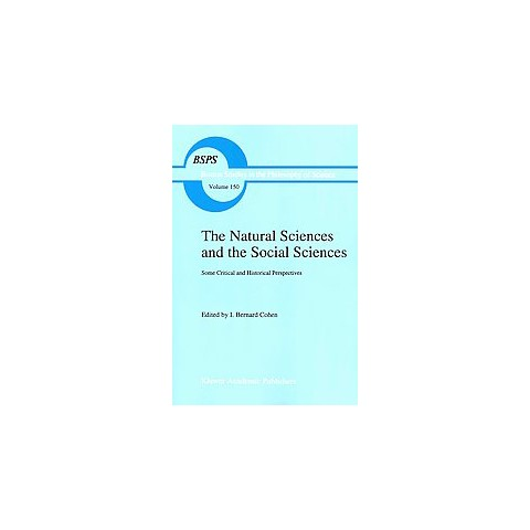 The Natural Sciences and the Social Sciences (Paperback)