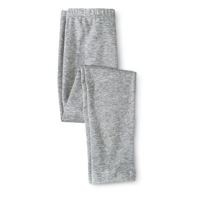 Circo® Infant Toddler Girls' Solid Legging - Heather Grey 12 M
