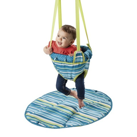 Evenflo Exersaucer 2-in-1 Doorway Jumper - Blue