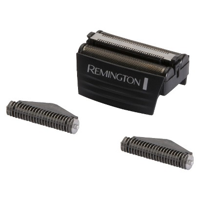 Remington Replacement Screens and Cutters for Foil Shaver - Black/Silver