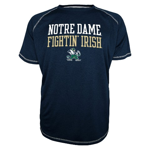Men's Notre Dame Fighting Irish T-Shirt - Navy