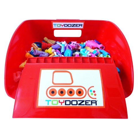 TOYDOZER®  Toy Clean Up Set - Red
