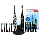 Pursonic Dual Electric Toothbrush Set