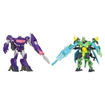 Transformers® Prime Predacons Rising Shockwave and Bombshock Figures