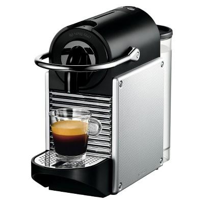 ECOM Nespresso Pixie Espresso Machine - Aluminum