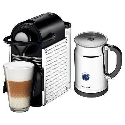 Nespresso Pixie Espresso Machine with Aeroccino Milk Frother