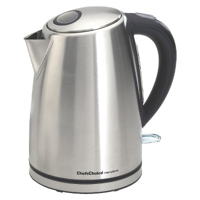 Chef'sChoice® Cordless Electric Kettle - Stainless Steel