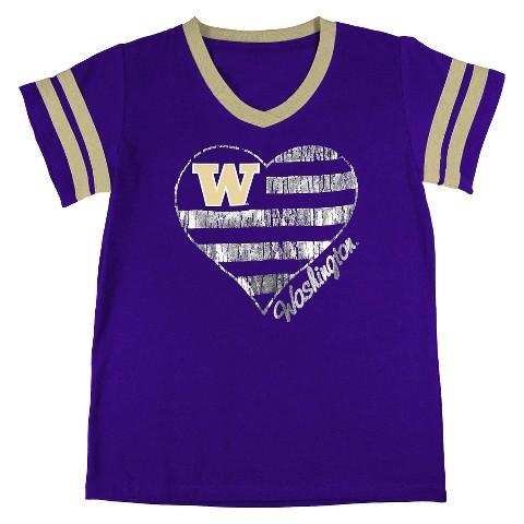 Washington Huskies Girls Tunic- Purple