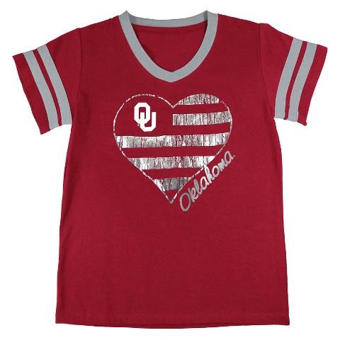 Oklahoma Sooners Girls Tunic- Red