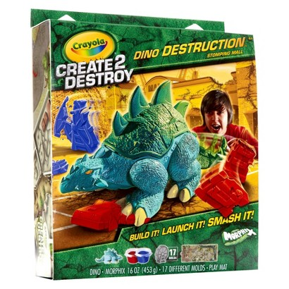Crayola Create 2 Destroy Stomping Mall