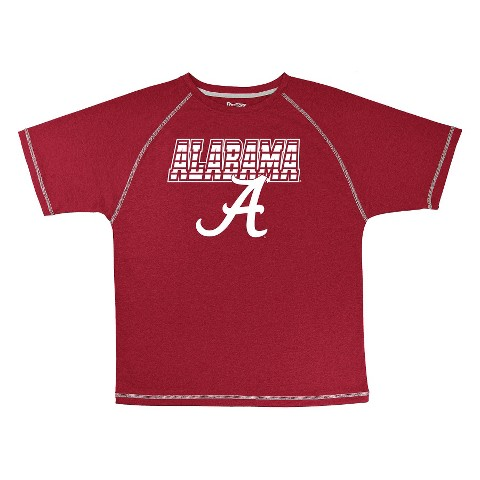 Alabama Crimson Tide Boys Short-Sleeve Synthetic Tee - Red