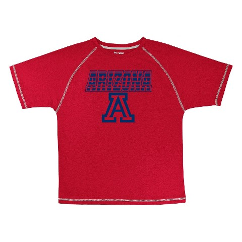 Arizona Wildcats Boys Short-Sleeve Synthetic Tee - Red